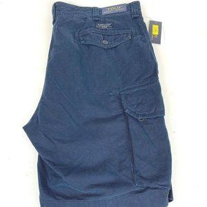 Polo Ralph Lauren Men's Blue Cargo Shorts  - NEW